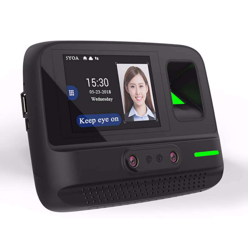 5YOA AF4 Time Attendance WIFI Wireless Management System Face Fingerprint Password Biometric Device Facial Recognition(China)