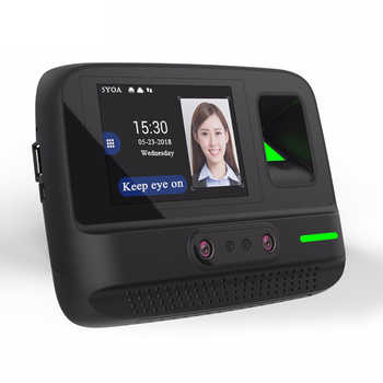 5YOA AF4 Time Attendance WIFI Wireless Management System Face Fingerprint Password Biometric Device Facial Recognition - DISCOUNT ITEM  30% OFF All Category