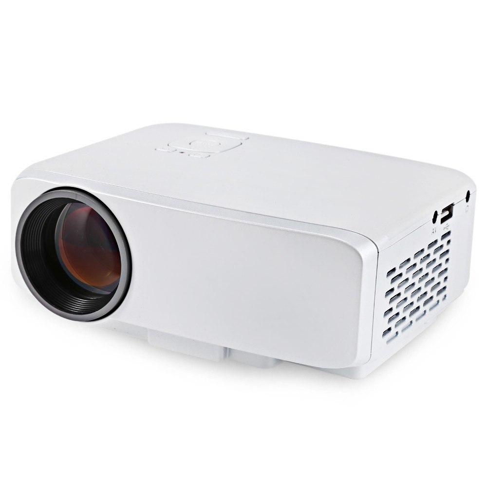 Zeepin gp9s portable lcd 800 lumens projector 800x480 for Portable projector hdmi 1080p