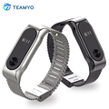 Original Mijobs Replacement Magnetic Strap for Xiaomi Mi Band 2 Metal Stainless Steel Strap Smart Wristband Baracelet