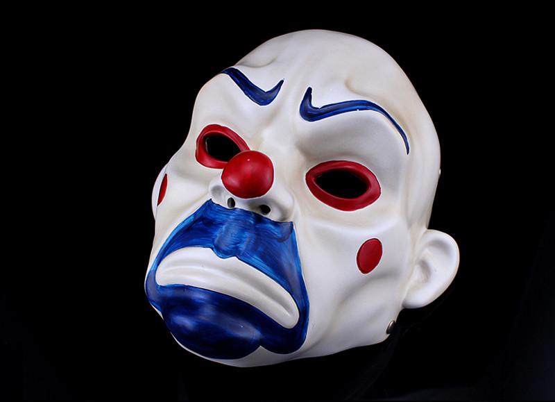High Quality Resin Clown Mask Halloween Christmas Cosplay Costume Party Mask Movie Theme Jack Napier Batman Joker Masks12