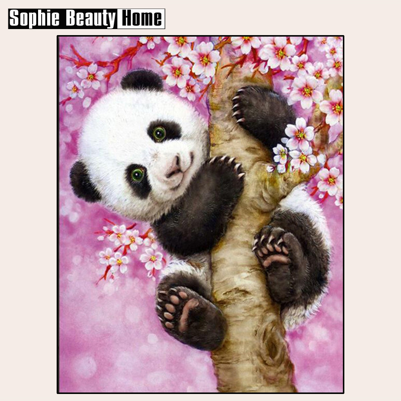 2018 Direct Selling Promotion The Panda Diy Diamond Painting Craft Accessories Cross Stitch Thorn To Draw Needlework Embroidery