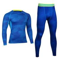 Men Pro Conpression Fitness Winter Thermal Underwear Sets Quick Dry Gymming Male Spring Autumn Sporting Runs