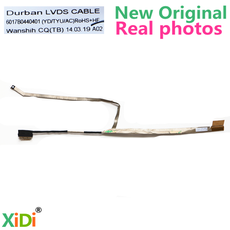 NEW <font><b>DURBAN</b></font> LVDS CABLE 6017B0440401 FOR TOSHIBA C55 C55D C55T C55DT LCD LVDS CABLE image
