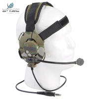 Z Tactical Bowman Style EVO III Dual Side Headset Peltor Militray AccessoriesTactical Tacticos Shooting Outdoor Sports