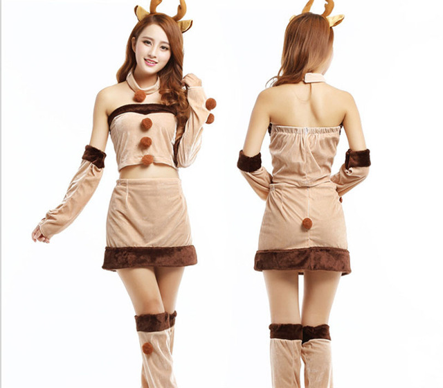 Angelskirt Newest Style And Cheapest Price Girls and Women Christmas Deer Costume Dress Sexy Lingerie Set  sc 1 st  AliExpress.com & Angelskirt Newest Style And Cheapest Price Girls and Women Christmas ...