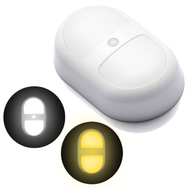 Chambre Decoration Motion Sensor Led Night Light Batterie Propulse Chemin Murale Lampe Parfait Pour Salle De