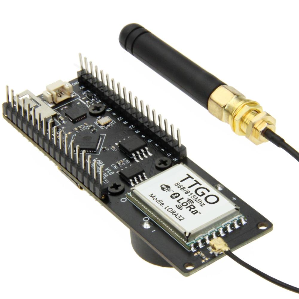 Hot Sale] TTGO T Fox LoRa32 V1 1 433/868/915Mhz ESP32 LoRa