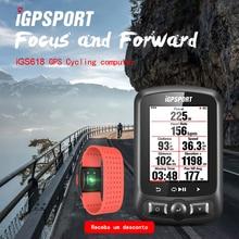 ANT+ & Bluetooth cycling power meter iGS618 iGPSPORT gps Bike computer  navigation Speedometer IPX7 3000 hours data storage недорого