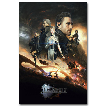 Шелковый Плакат Гобелен Игра Последняя Фантазия Final Fantasy XV Вариант 5
