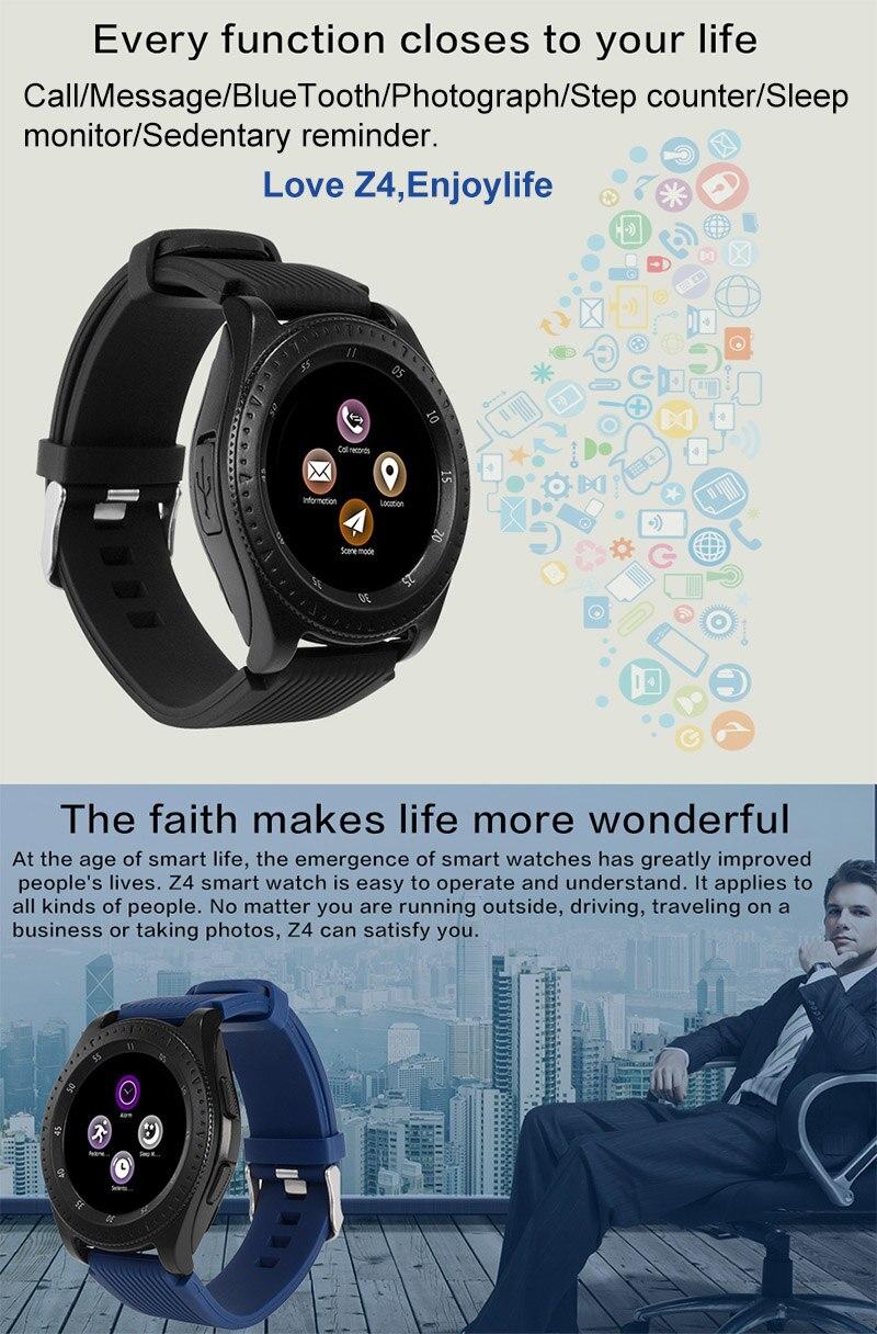 5.Z4 Smart watch