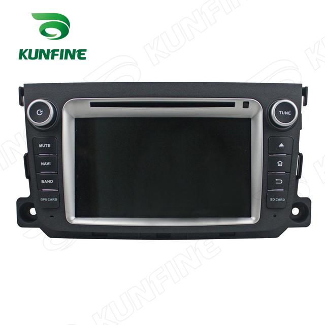 Quad core 1024*600 android 5.1 reproductor de dvd del coche de navegación gps estéreo del coche para smart 201-2012 radio 3g/wifi control del volante