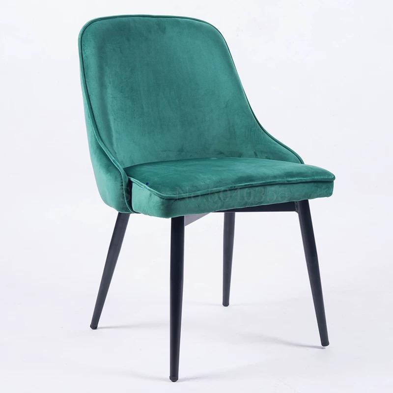 Скандинавский светильник роскошный стул для столовой сетка красный стул Макияж дизайн ногтей Металл домашний спальня стул Кофейня стул - Цвет: VIP 6