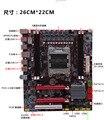 Обои для рабочего материнская плата X79 материнская плата 2011 контактный ECC DDR3 SATA3 USB3.0
