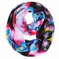 [Ode To Joy]Women's fashion scarf  flower print scarves chiffon Infinity Scarf Loop foulard scarves valentine's day gift