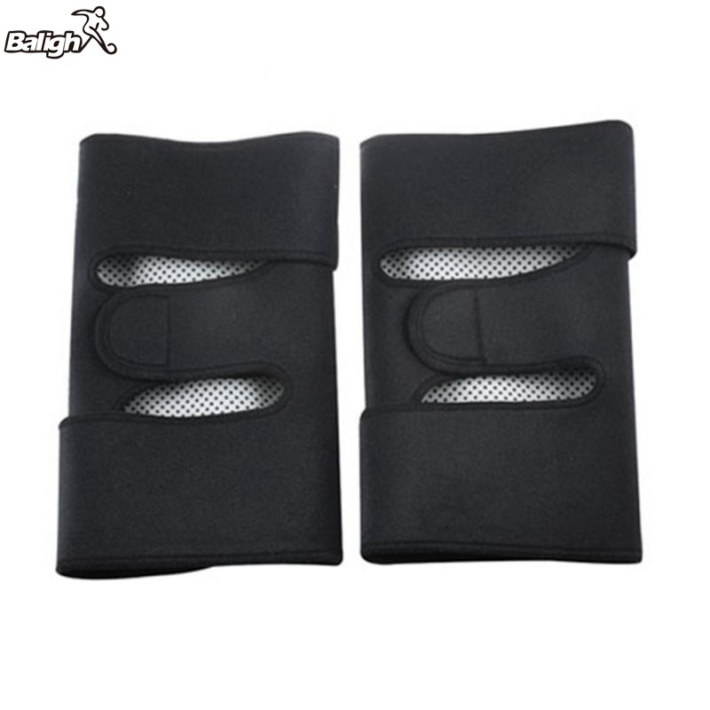 1 Pair Health Care After Sports Knee Pads Tourmaline Self Heating Far Infrared Magnetic Therapy Spontaneous Heating Pad TX005 in Elbow Knee Pads from Sports Entertainment