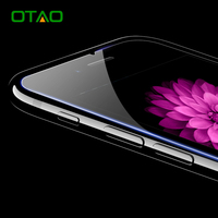 OTAO Tempered Glass Screen Protector Film For Apple iPhone 7 6 6S Plus 9H HD Clear Ultra Thin Protective Anti-Scratch