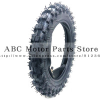 2.50 10 Front Or Rear Wheel Tire Out Tyre with Inner Tube 10inch tires 10 For Motorcycle Motocross Dirt Pit Bike