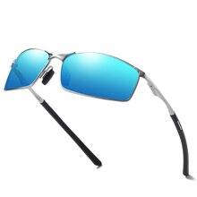 2019 New Photochromic Polarized Men Sunglasses Sport Goggle Chameleon Change Color
