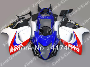 white red blue black for GSXR1300 08 09 10 11 GSX-R1300 2008 2009 2010 2011 GSX1300R GSX R1300 08 09 11 2008-2011 08-11 fairing