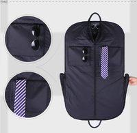 Высококачественный ПУ виселицы пальто одежда Гар Для мужчин t костюм крышка сумки пылезащитный вешалка для хранения Для мужчин Дорожная су
