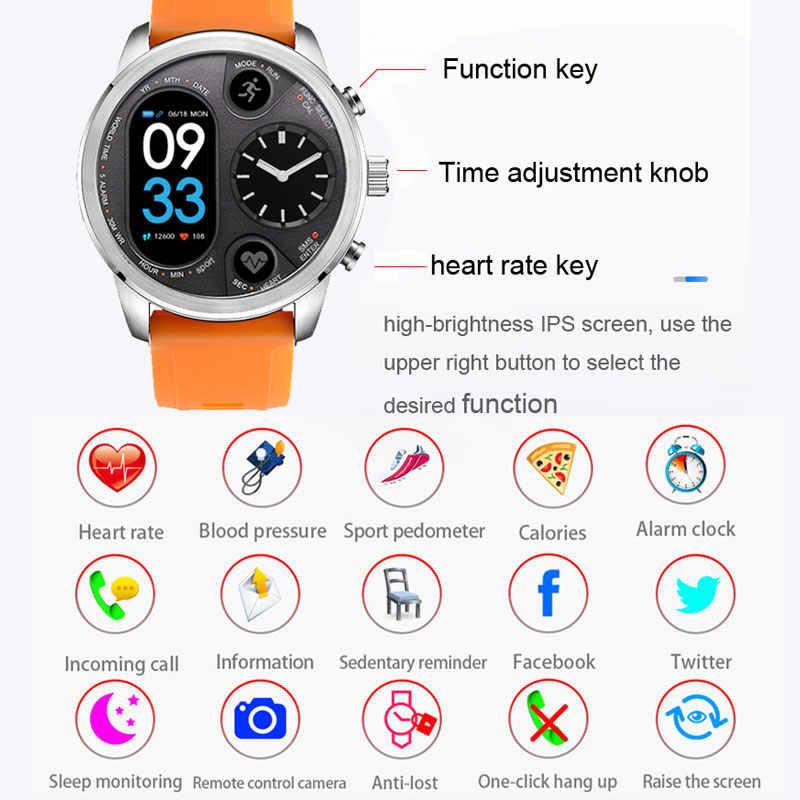 Умные часы 50 м водонепроницаемые спортивные часы Buletooth Управление камерой сообщение вызов Push будильник умные часы из сплава IOS Android телефон