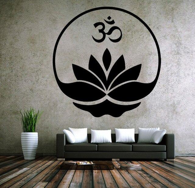 Estilo indio adhesivo de pared de vinilo gr fico budismo for Pegatinas murales pared