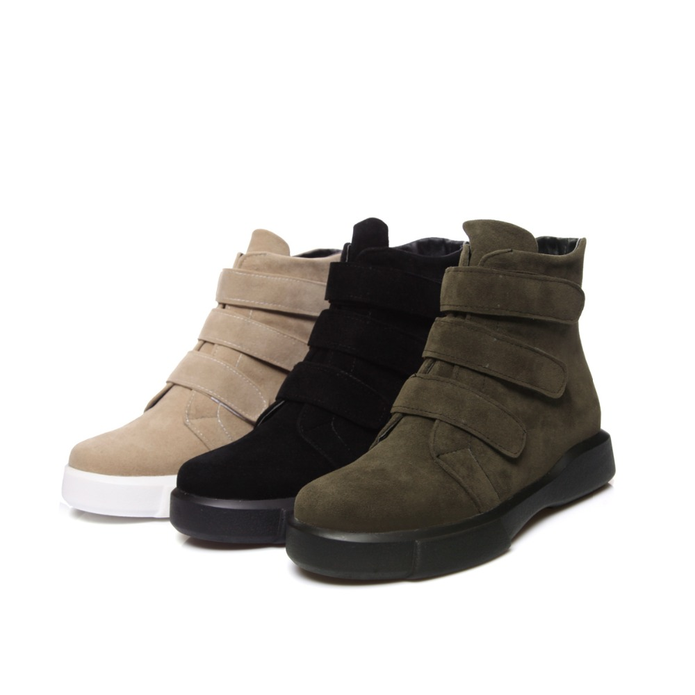 Female Women Snow Boots Slim winter Boots Fashion Ankle Boots flat Botas Women winter wa ...
