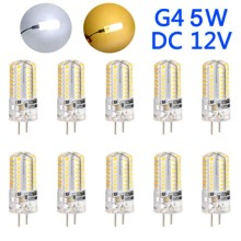 10Pcs G4 5W LED Light Corn Bulb DC12V Energy Saving Home Decoration Lamp CLH@8