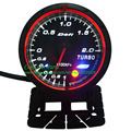 60mm defi advanced CR turbo gauge Amber red/ white light Turbo Boost Gauge black face car meter Turbo Meter