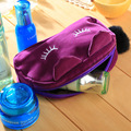 Lovely Portable Storage Bag Gadget Devices USB Cable Earphone Pen  woman student Travel Cosmetic Bag