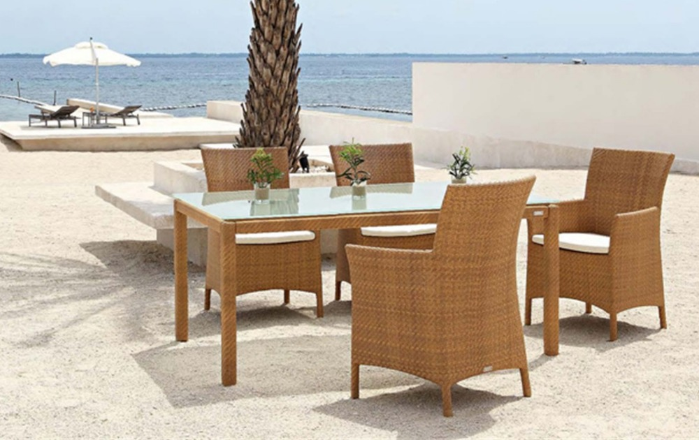 2017 Perdagangan Jaminan Kualitas Tinggi Hideaway Tugas Berat Meja Makan Dan Kursi Rotan Table Table Dining Table And Chairtable And Chairs Aliexpress