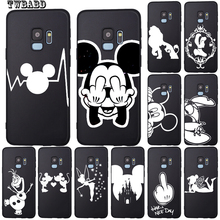 Cute Mickey Mouse For Cover Samsung Galaxy S9 Castle