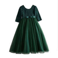 Girls dress princess dresses New Year Clothes for girls Show costume Party Wears kids clothing chilren Tutu Formal DRESS