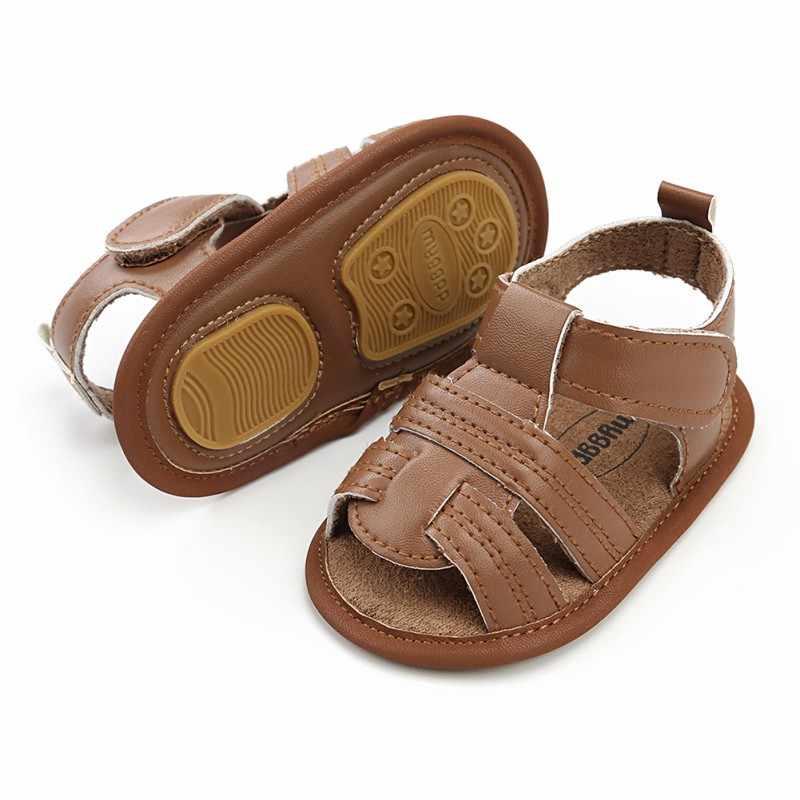 Летняя детская пляжная дышащая обувь для мальчиков мягкая подошва для малышей обувь для ходьбы