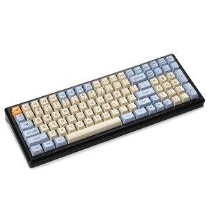 Image 2 - YMDK clavier de clavier OEM en PBT épais, pour clavier mécanique MX mélodie 96 KBD75 FC980M, avec Sublimation 96/84 ANSI ISO