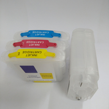 Vilaxh 10 82 Refillable Ink Cartridges For HP with chip for HP DesignJet 500 500ps 800 800ps 815m printer недорго, оригинальная цена