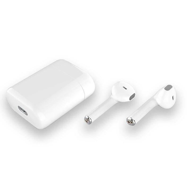 TWS i20 smart Bluetooth 5 0 earphones earplugs earbuds Noise Reduction Siri Binaural stereo HD Call Auto Matching charging box in Bluetooth Earphones Headphones from Consumer Electronics