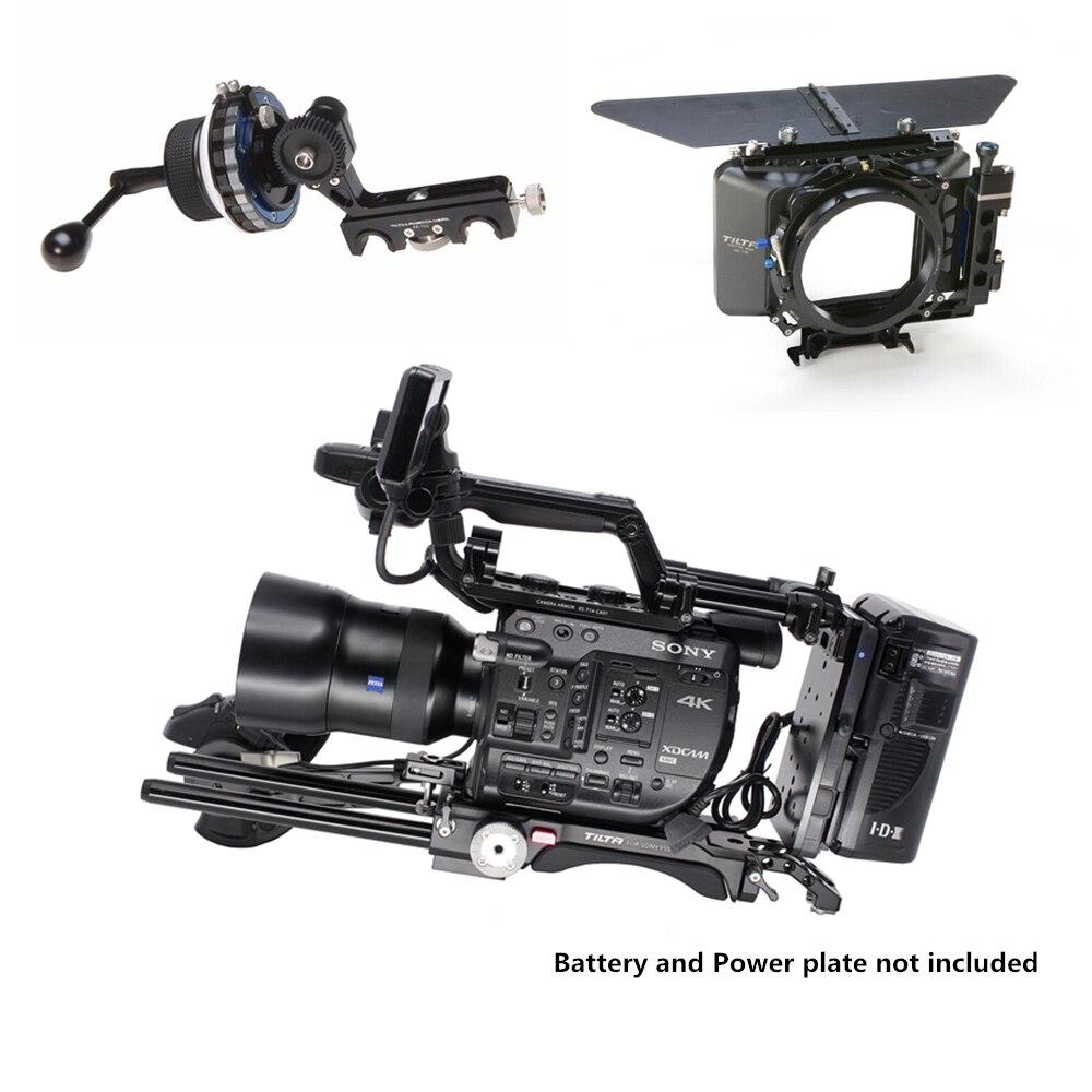 все цены на Tilta ES-T14-B FS5 Rig Kit Camera Rig FF-T03 follow focus 4*4 matte box Baseplate Extension armV-lock For SONY FS5 camera
