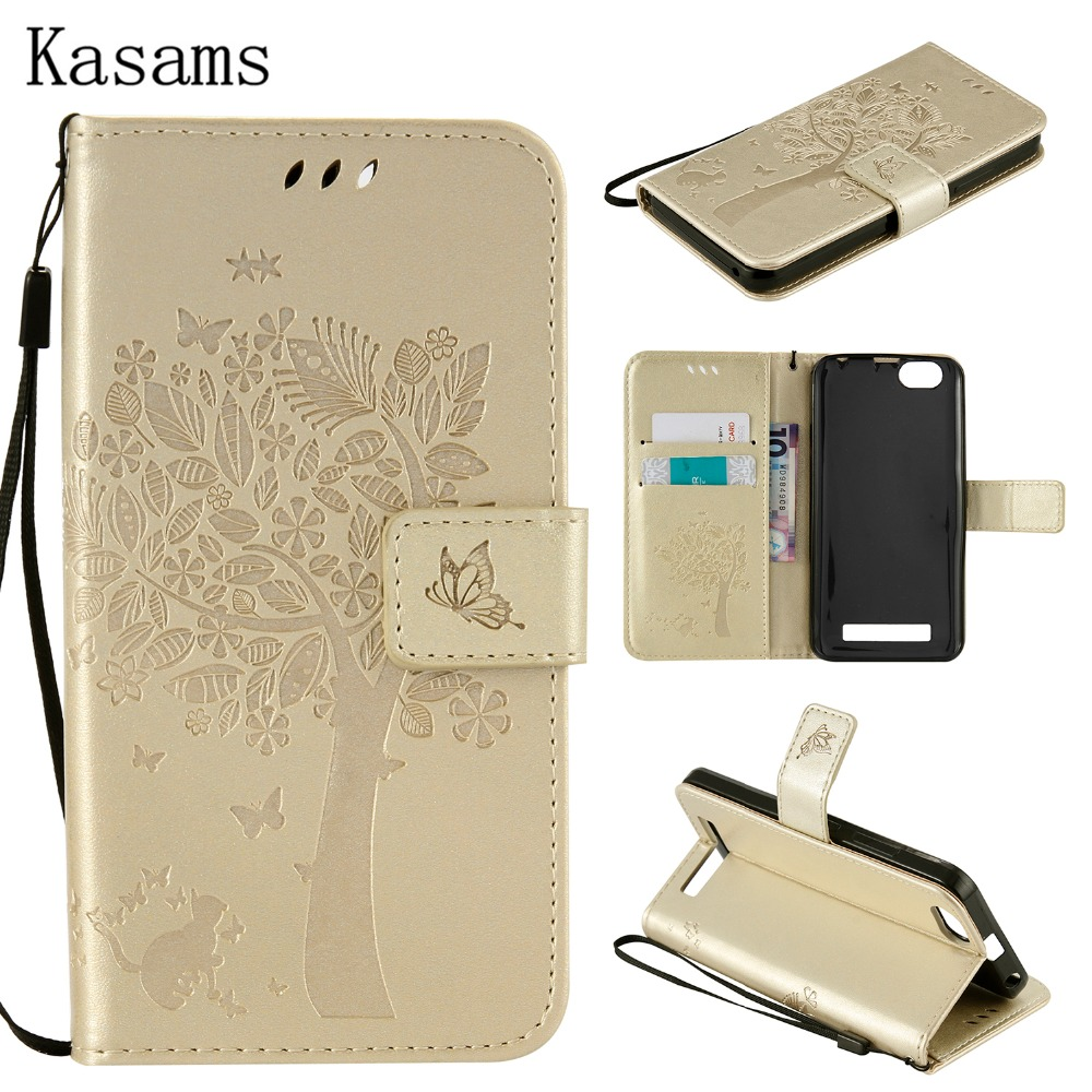 3D Tree For Lenovo Vibe C A2020 A2020a40 PU Leather Mobile Case For Lenovo ZUK Z2 Z2 Pro Phone Shell Wallet Flip Stand Cover Bag