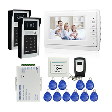 FREE SHIPPING New 7 LCD Monitor Video Intercom font b Door b font Phone System 2