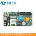HUIDU HD-D10 USB assíncrona full color cartão de controle de tela LED sem wifi modulU-porta disco controlador lintel exibição 4 * HUB75