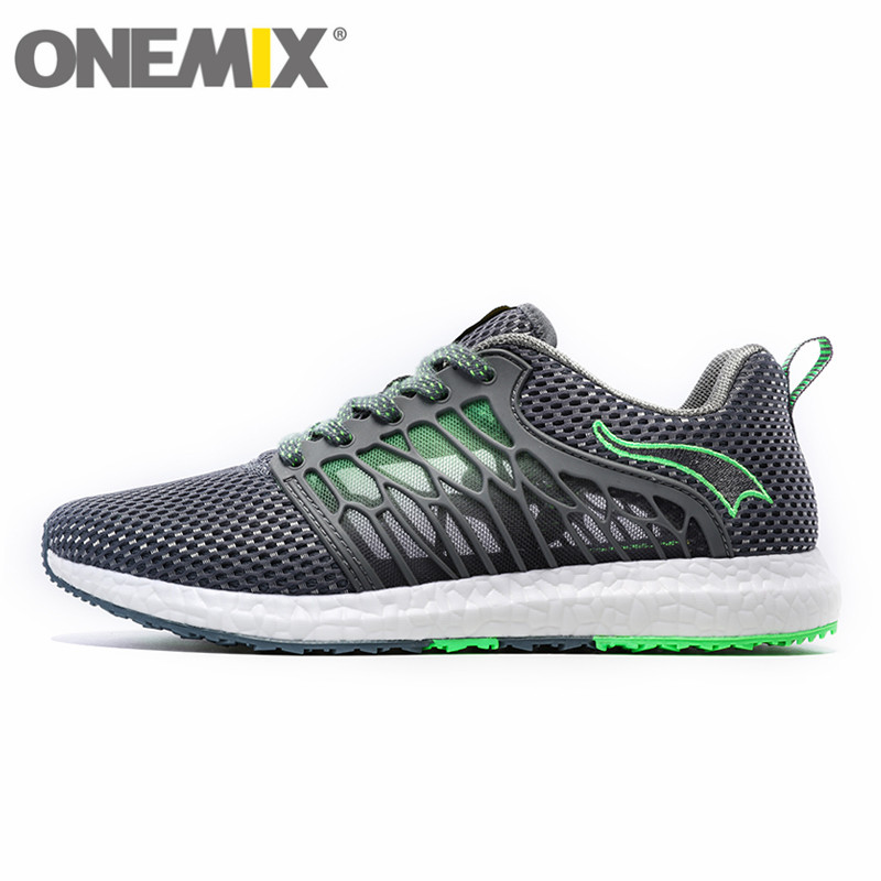ONEMIX Breathable Cicada's Wings Running Shoes for Men Women Lightweight Free Comfortable Sneakers Mens Sports Walking Jogging цена