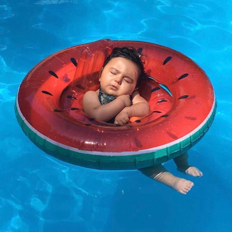 Baby Inflatable Swimming Rings Armpit Float Circle Swim Ring Summer Water Seat Boat Fun Pool Toys Kids Swim Pool Accessories