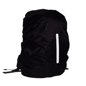 Image 3 - 높은 품질 안전 배낭 레인 커버 반사 방수 가방 커버 야외 캠핑 여행 방수 방진