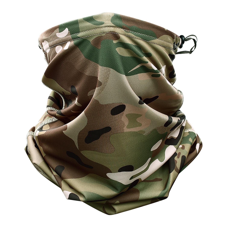 Multicam Camouflage Tactical Collo Ghetta Tubo Viso Maschera Sole Testa Esercito Militare Sciarpa Magica Della Fascia Beanie Wristband Bandana