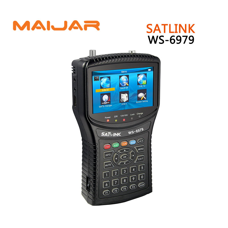 [GENUINE] Digital satellite finder SATLINK WS6979 meter terrestrial signal satlink ws-6979 for search