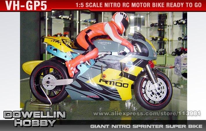 Giant Nitro Sprinter Super Bike 15cc 15 Rtr Rc Model Car