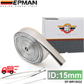 EPMAN Heat Shield Sleeve Insulated Wire Hose Cover Wrap Loom Tube 15mm*10meter EP-WR150GZ-FS