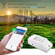 Sonoff G1 GPRS/GSM Wi-Fi пульт дистанционного Мощность Smart Switch удаленно включить/off Бытовая техника для Android IOS ewelink через GPRS сети